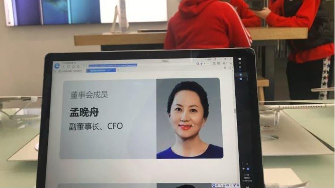 منغ وانزهو ابنة مؤسس شركة هواوي