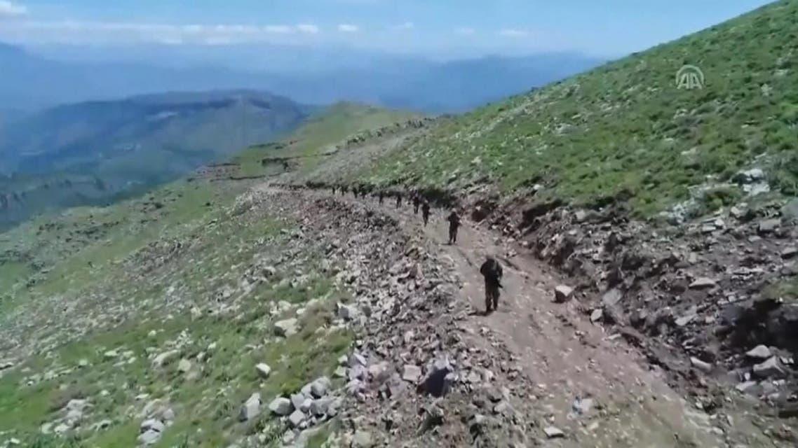 تركيا تطلق عملية عسكرية في العراق  ضد حزب العمال الكردستاني