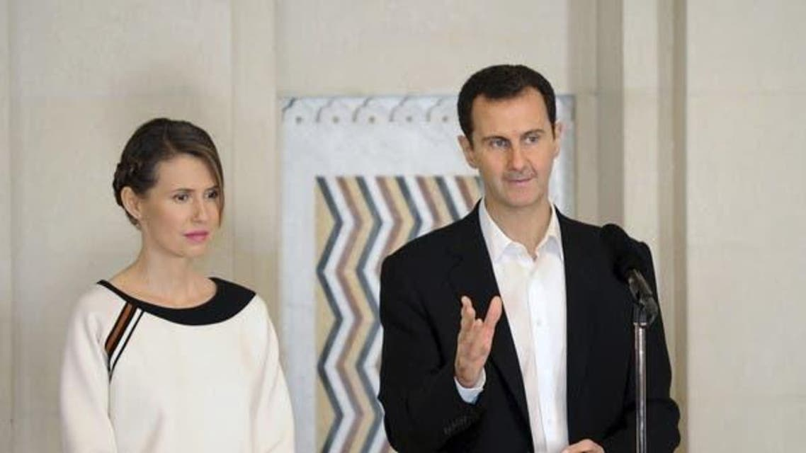 Syrian President Bashar al-Assad and Wife Asma