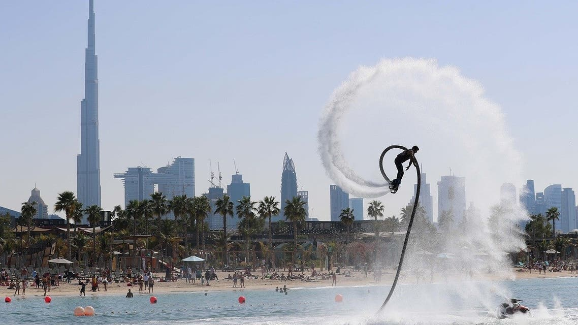 Dubai has announced the resumption of water sports competitions after they were suspended due to coronavirus precautionary measures. (Supplied)