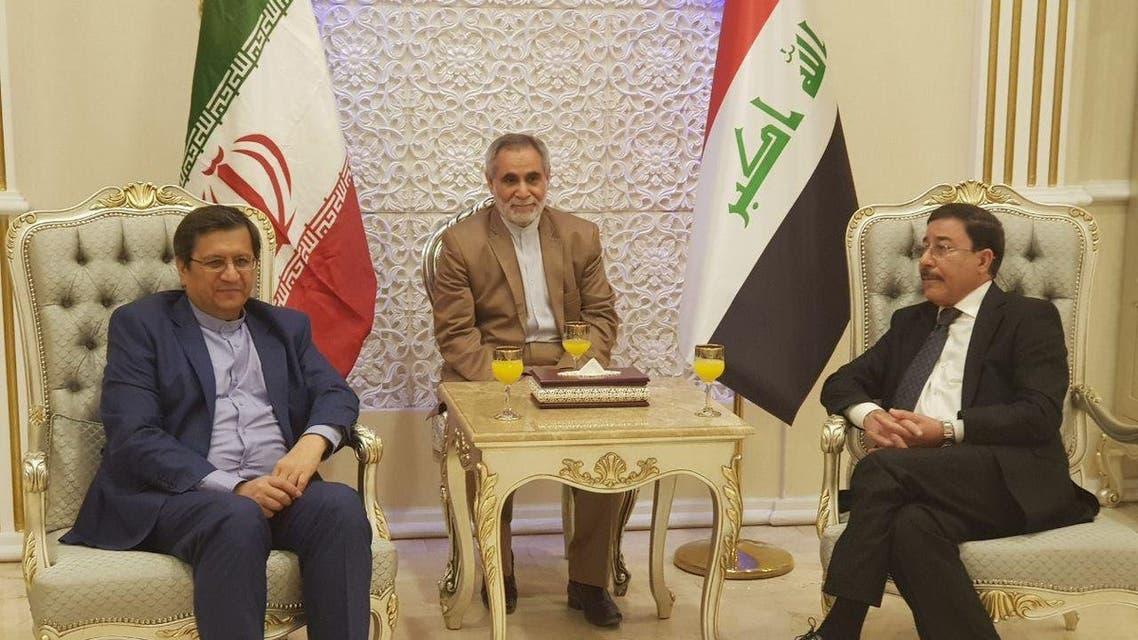 رئيس البنك المركزي الايراني ونظيره العراقي
