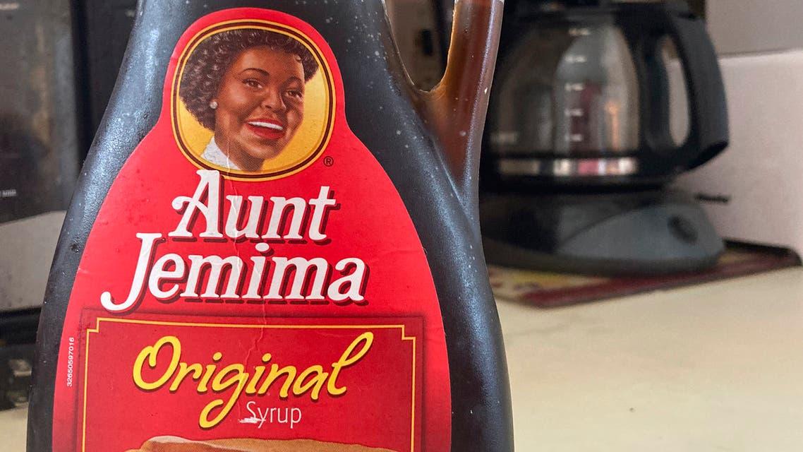 A bottle of Aunt Jemima syrup. (File photo: AP)