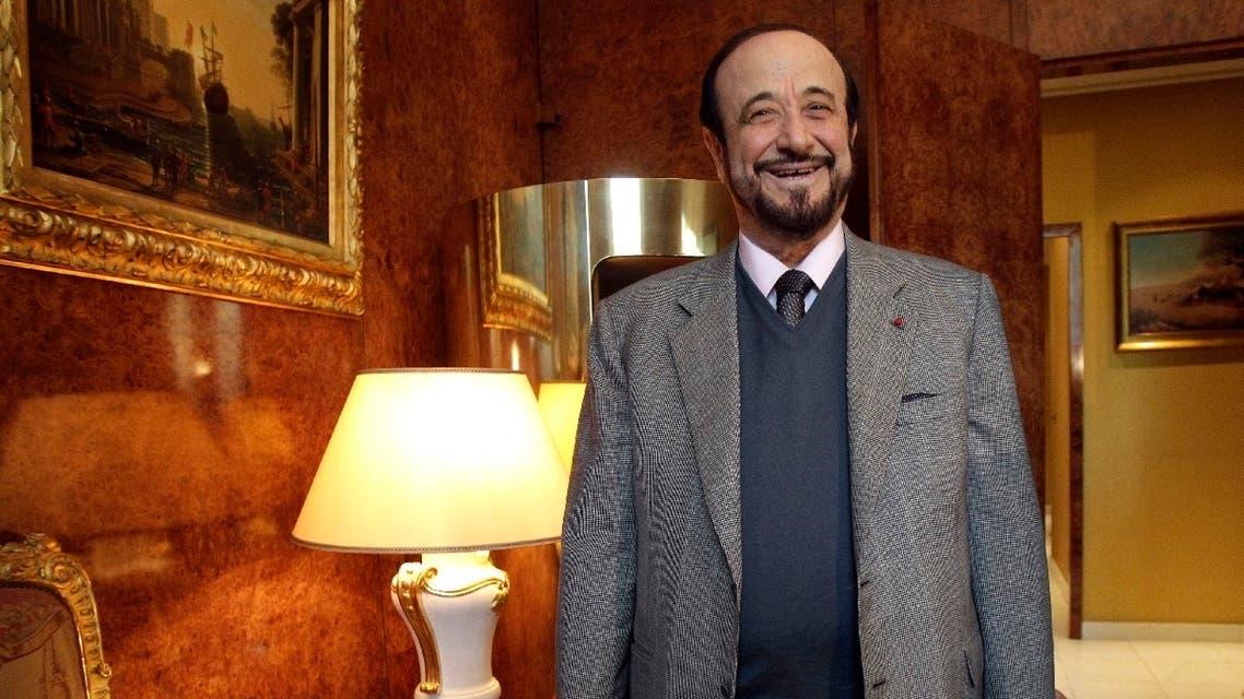 Rifaat al-Assad, the uncle of Syrian President Bashar al-Assad, poses for a photograph in Paris, France. (File photo: AP)