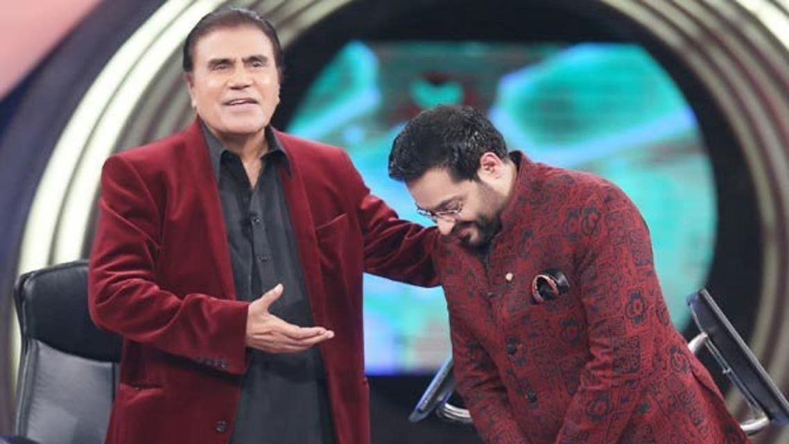 Pakistani actor and television host Tariq Aziz has died at the age of 84. (Twitter)