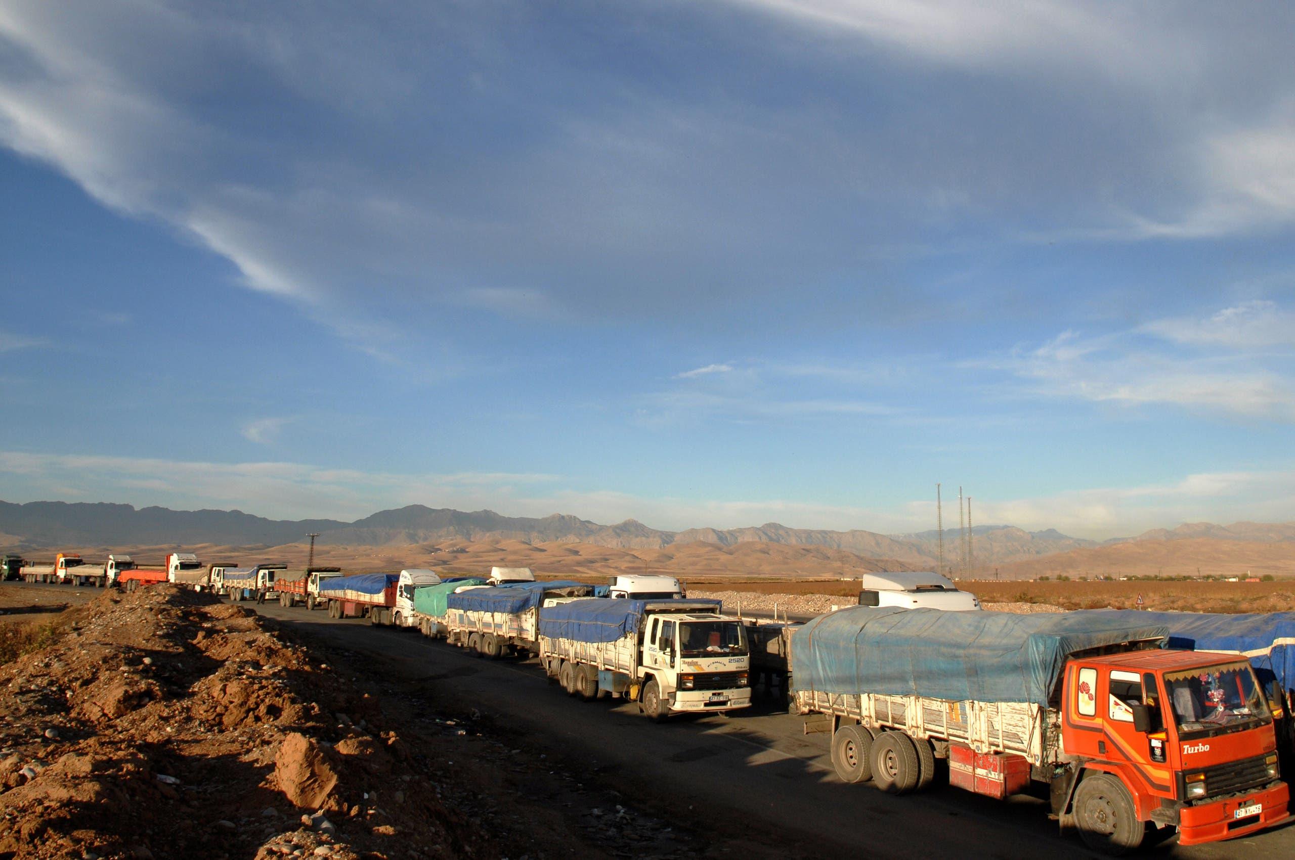 من الحدود التركية العراقية (أرشيفية- فرانس برس)
