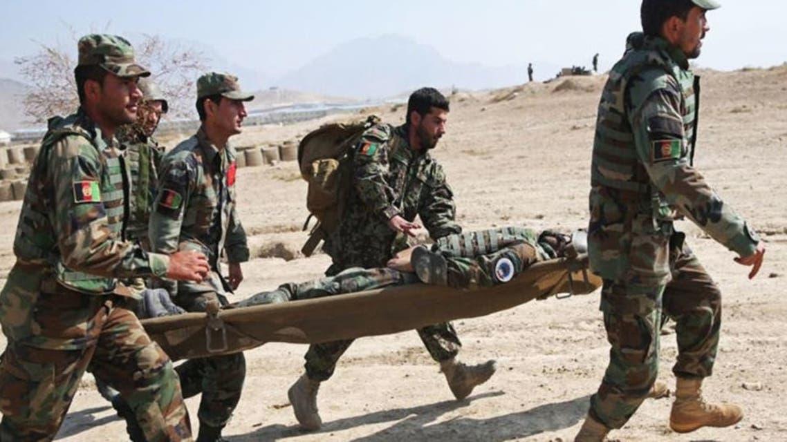کشته شدن سرباز افغان