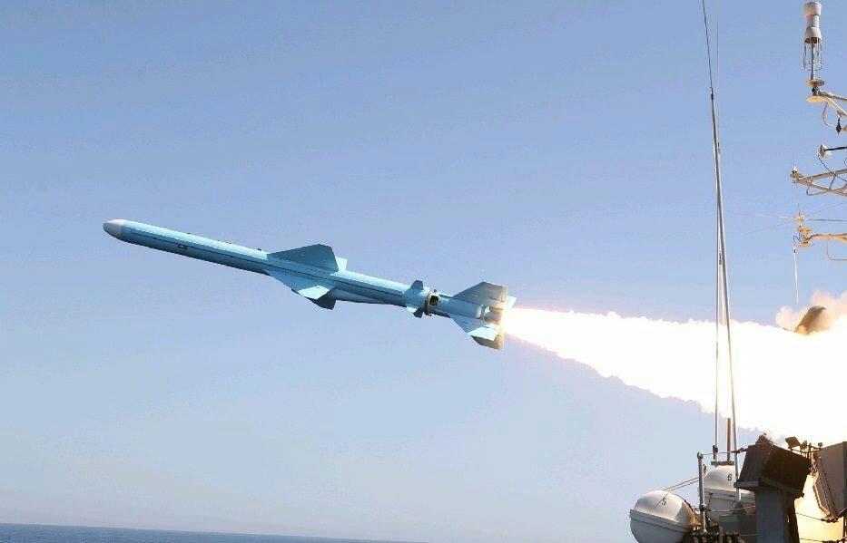 صاروخ كروز الذي اختبرته ايران