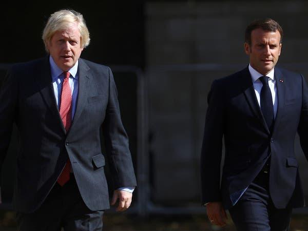 جونسون وماكرون يتفقان على ضرورة الحل السياسي في ليبيا