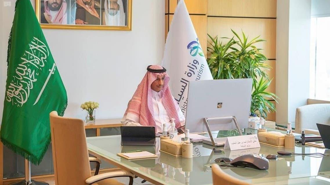 وزير السياحة السعودي أحمد الخطيب