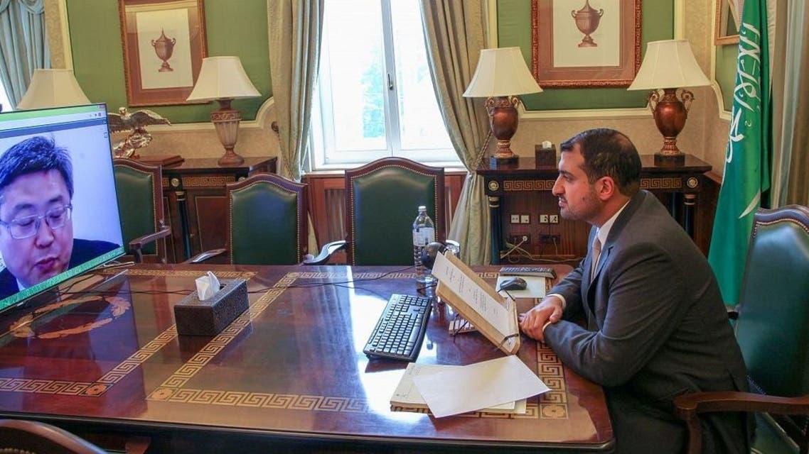 Prince Abdullah bin Khaled Bin Sultan al-Saud, Saudi Arabia's Ambassador to Austria.