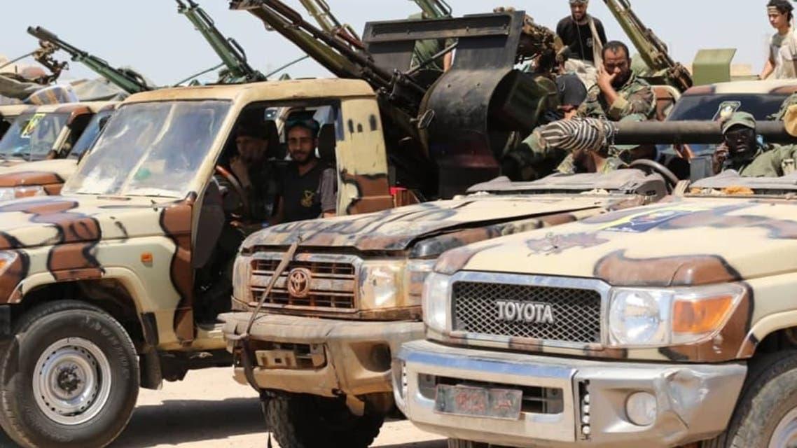 القوات الخاصة الجيش الوطني الليبي مصراتة