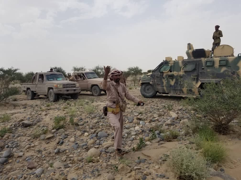 الجيش اليمني جبهة نهم (أرشيفية)
