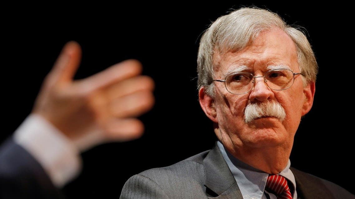 Former national security advisor John Bolton in Durham, North Carolina. (Reuters)