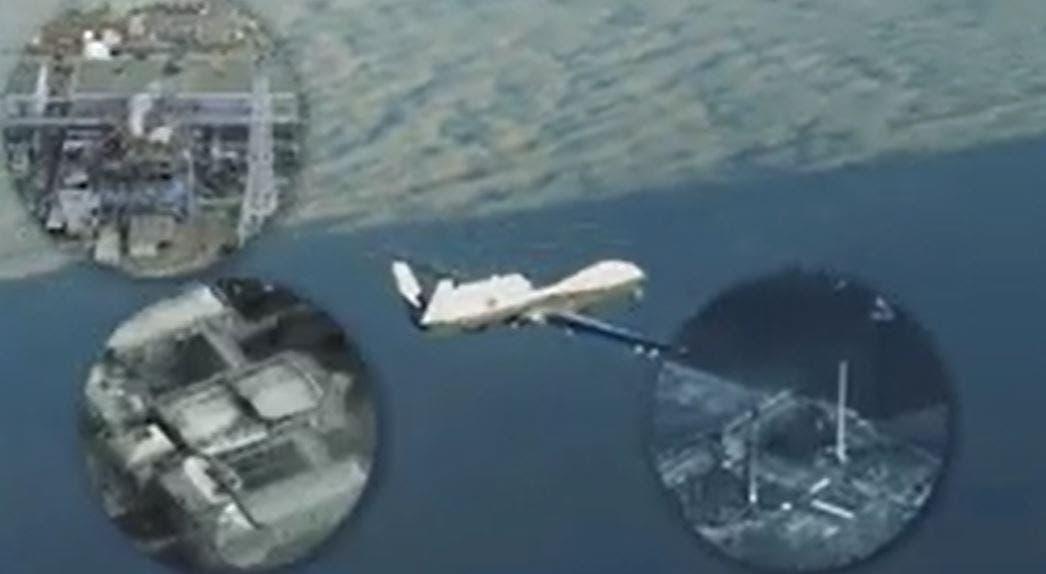 صاروخ إيراني أصاب درون أميركية - أرشيفية
