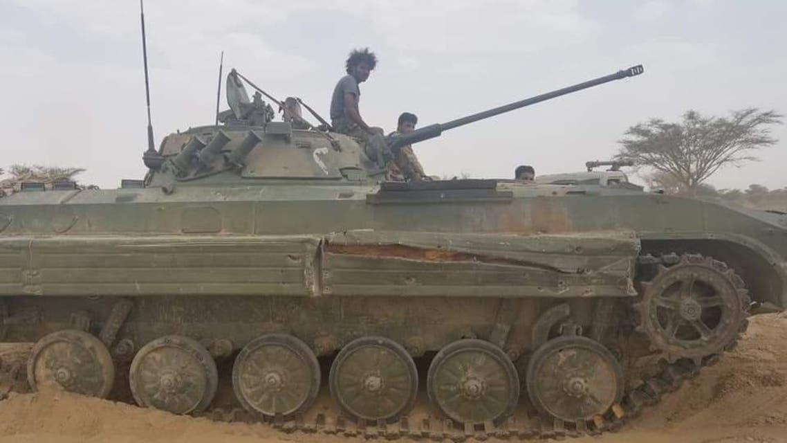 الجيش اليمني جبهة نهم شرق صنعاء
