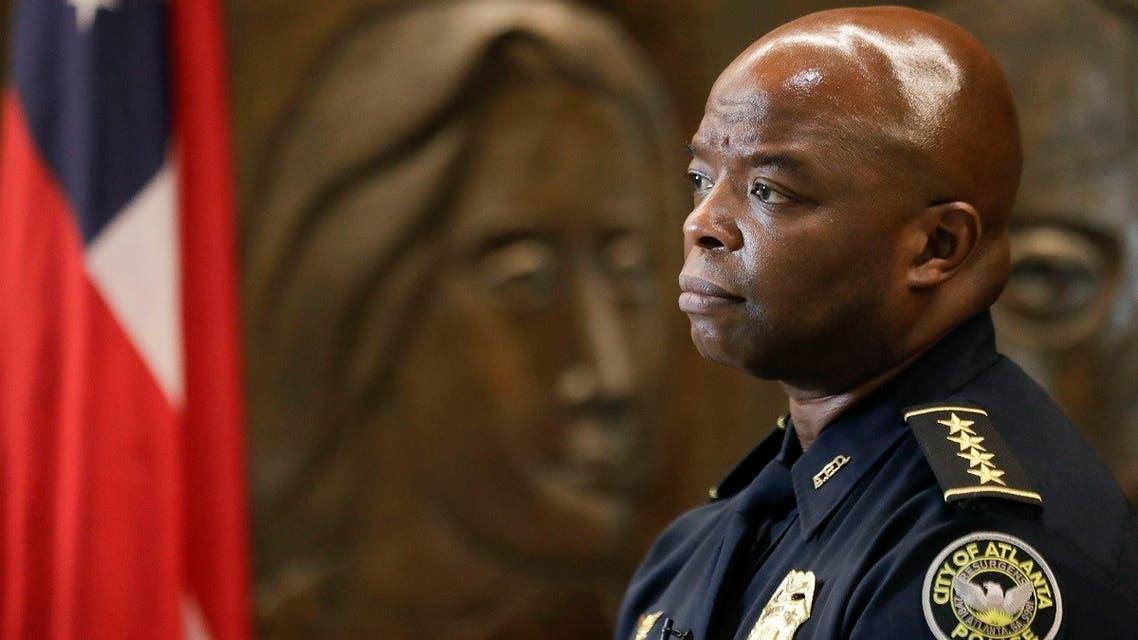 AP_Atlanta police chief