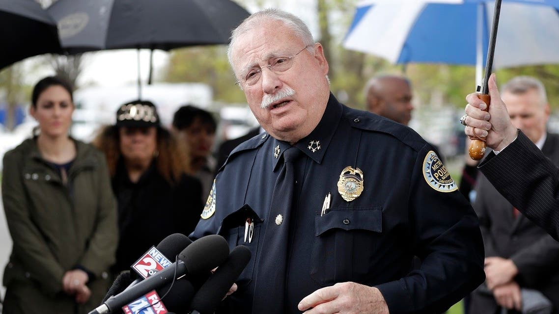 In this April 23, 2018 file photo, Metropolitan Nashville Police Chief Steve Anderson speaks at a news conference in Nashville, Tenn. (File photo: AP)