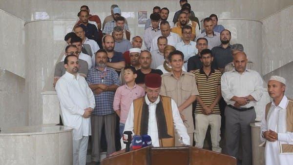 مجلس حكماء سرت يدعم الجيش الوطني ويؤيد إعلان القاهرة