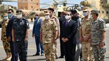 السيسي يطالب الجيش بالاستعداد والجاهزية لتنفيذ أي مهام