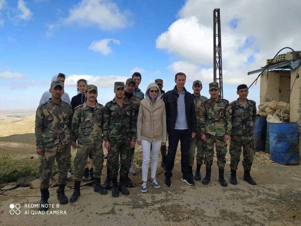 الصور التي تداولها أنصار الأسد مؤخرا