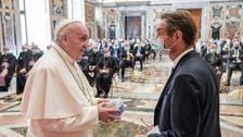 Pope hails Italy coronavirus doctors, nurses as heroes at Vatican