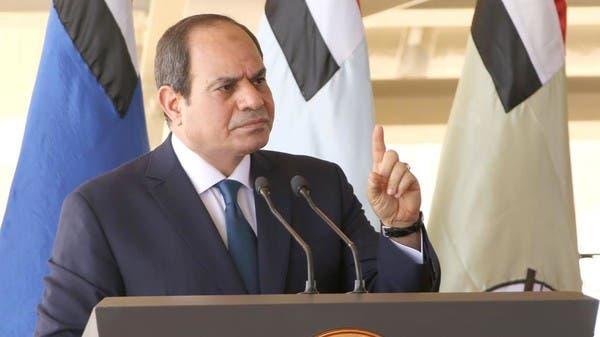 السيسي: مفاوضات سد النهضة معركة ستطول