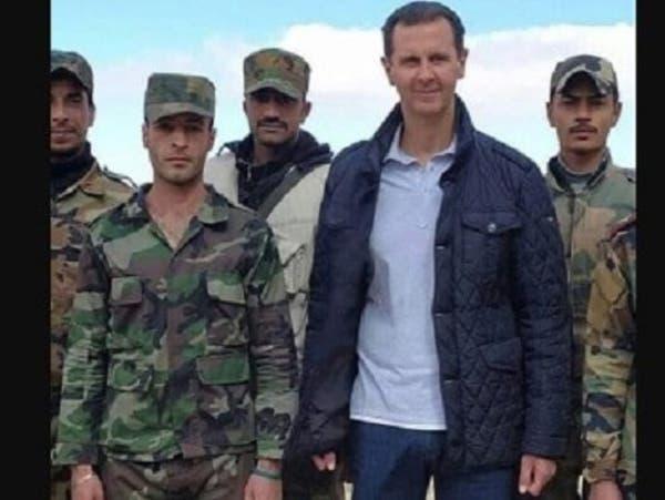 """بشار الأسد يظهر بسترة قديمة بعد عقوبات """"قيصر"""""""