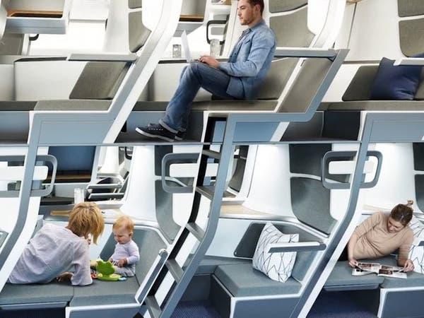 تصميم مقصورة الطائرة ينبئ بثورة في عالم الرحلات الطويلة