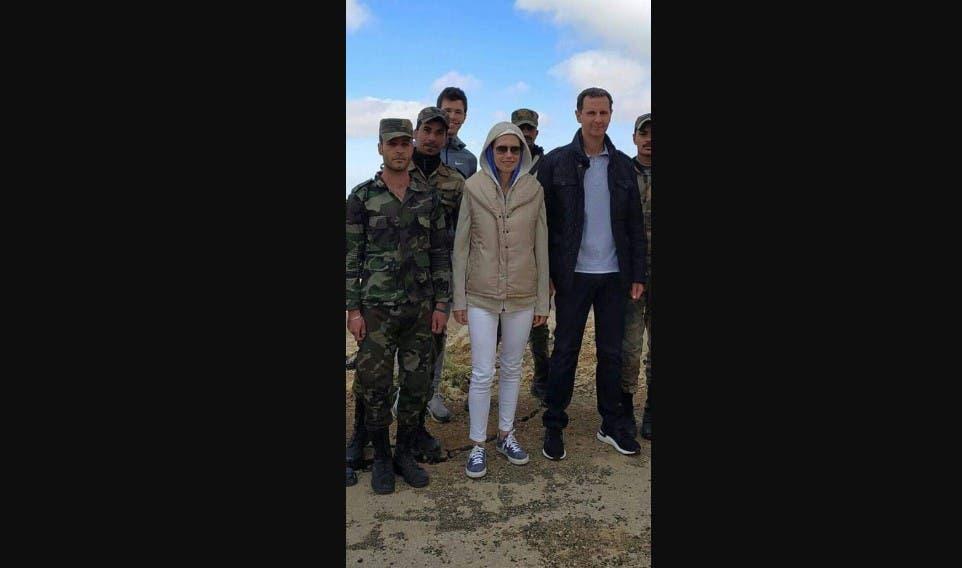 الصور التي تداولها أنصار الأسد في الساعات الأخيرة