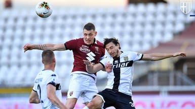 تورينو وبارما يتعادلان في عودة الدوري الإيطالي