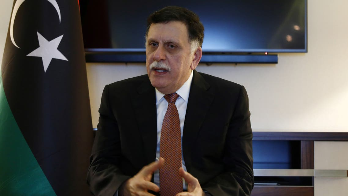 Fayez Mustafa al-Sarraj, Libya's internationally recognised Prime Minister, is pictured during an interview, in Berlin, Germany January 20, 2020. REUTERS/Michele Tantussi