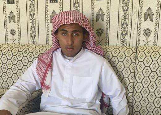 عبدالعزيز الناجي من الحادث
