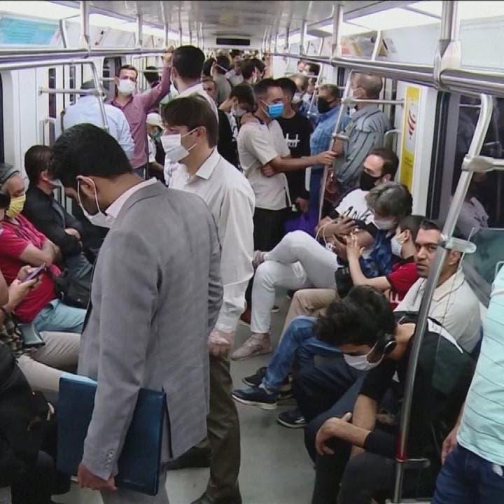حظر مغادرة طهران في أي اتجاه بسبب كورونا