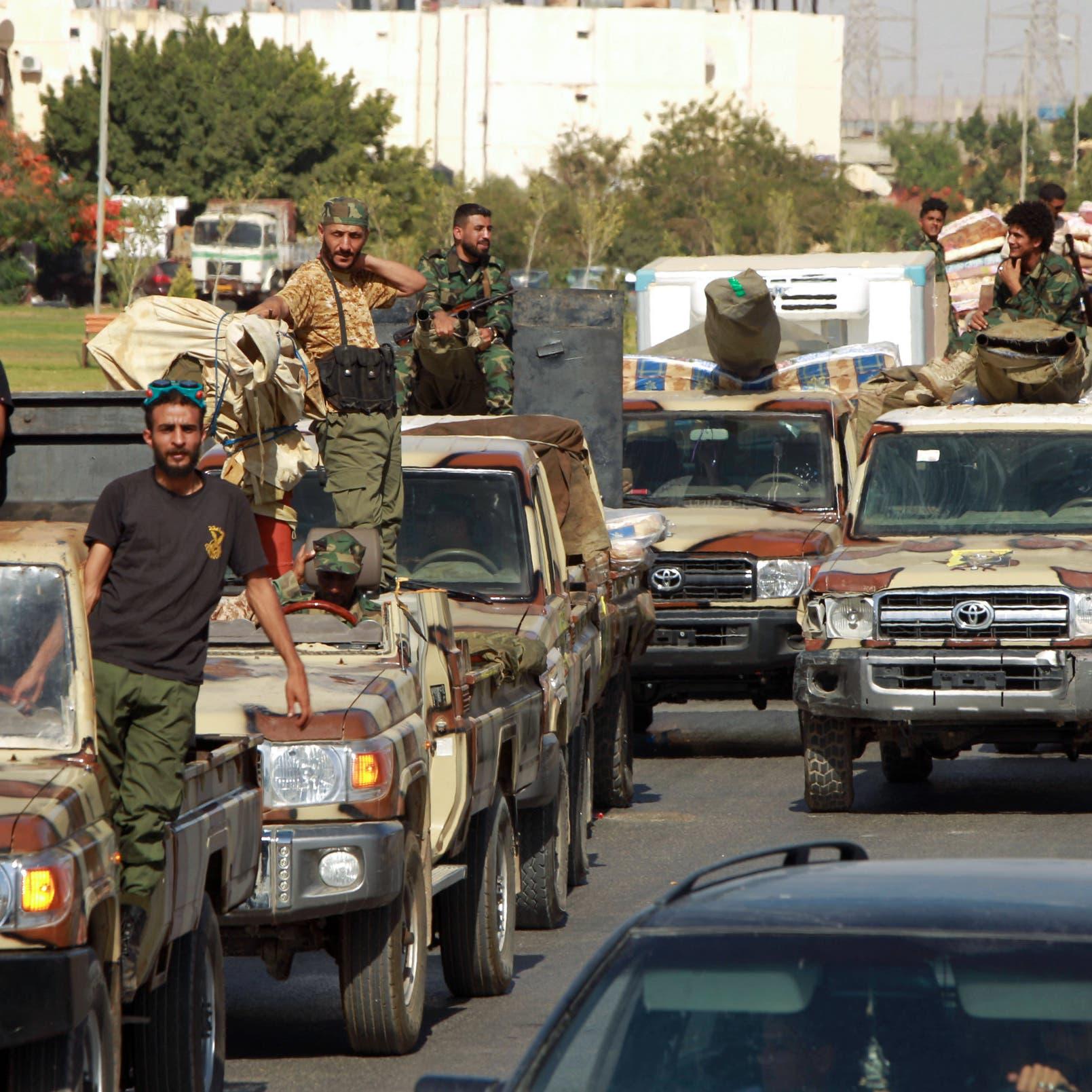 الوفاق تتمسك بدخول سرت.. والجيش يرد بخريطة!