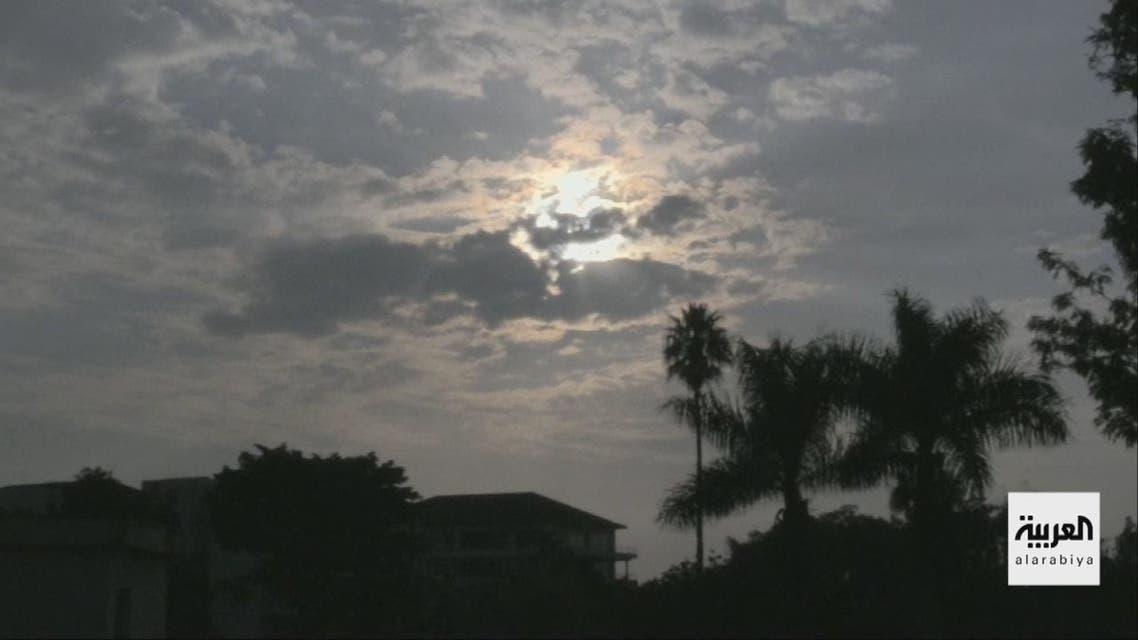 لكسوف الشمس من دبي