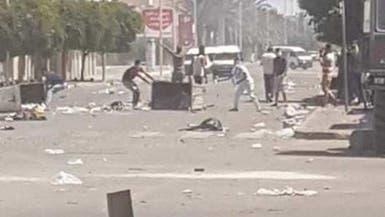 شاهد.. تدخل الشرطة بقوة يؤجج الاحتجاجات جنوب تونس