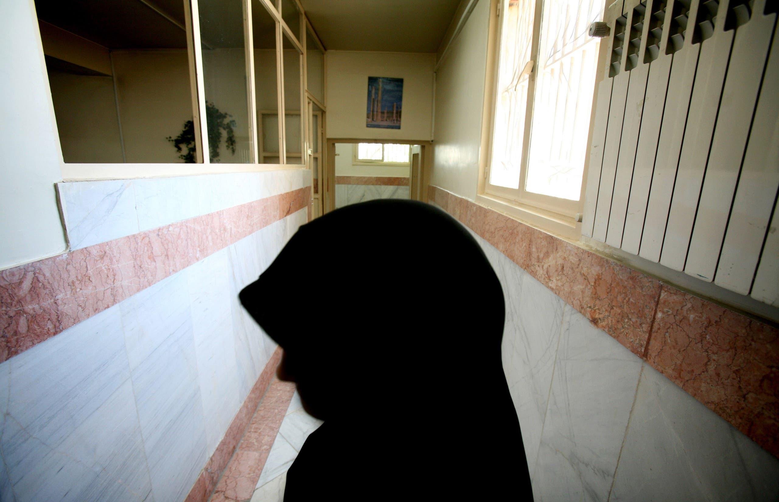 من داخل سجن إيفين في طهران (أرشيفية)