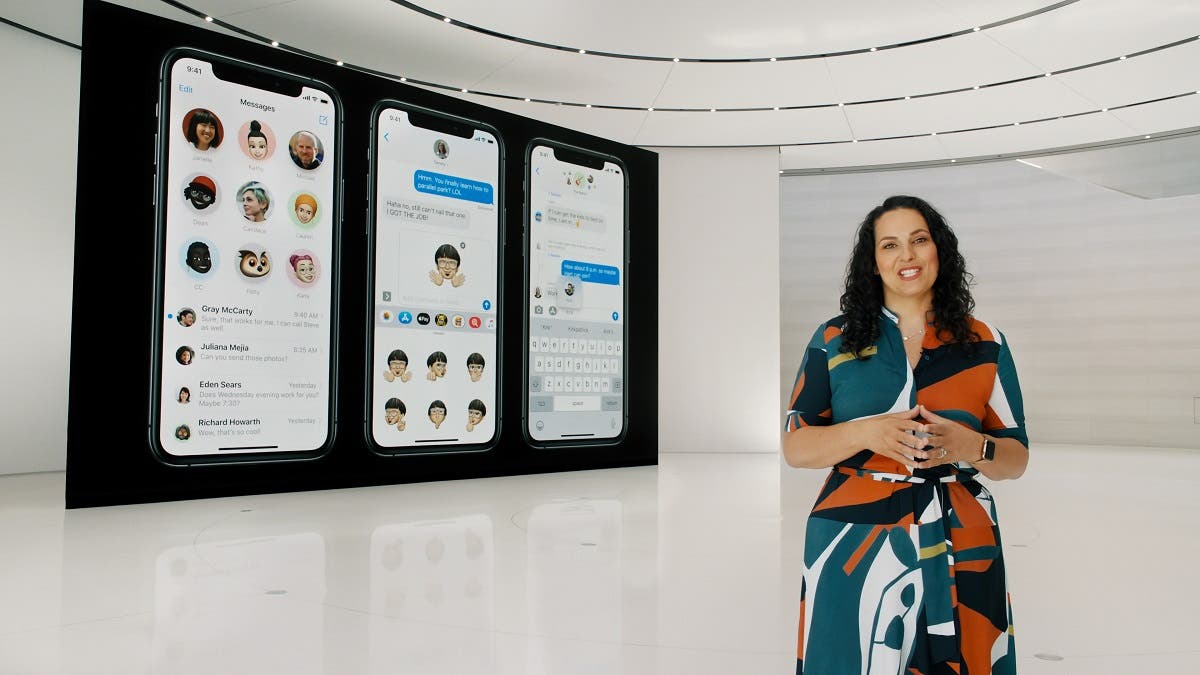 Apple's Stacey Lysik speaks at Apple Park in Cupertino, California, U.S. in this still from the 2020 Apple Worldwide Developers Conference (WWDC) keynote video. (Reuters)