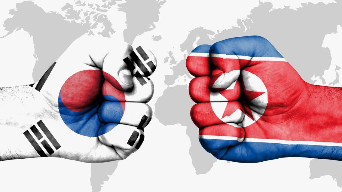 كوريا الشمالية وجارتها الجنوبية
