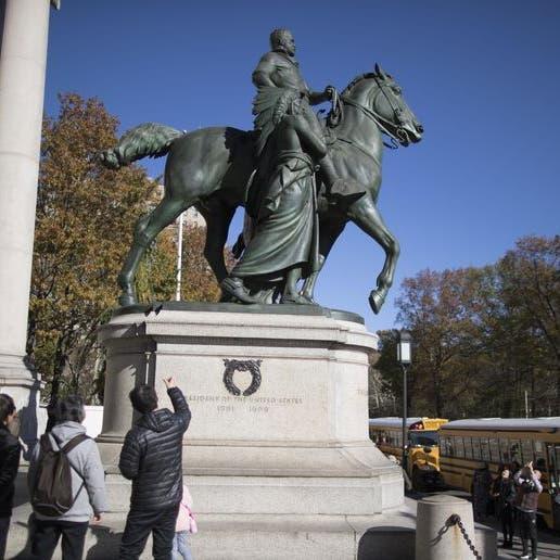 """حرب التماثيل تصل روزفلت.. وترمب يعلق """"توقفوا"""""""