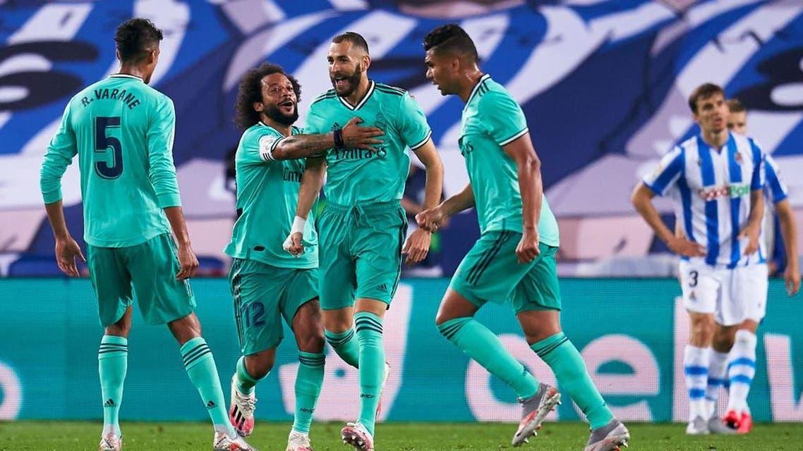 بنزيمة ريال مدريد سوسييداد