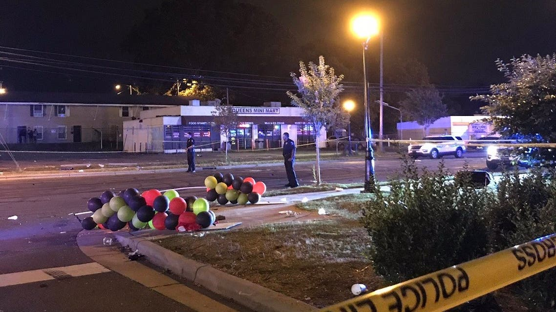 Two people were killed, and seven others were wounded in a shooting in North Carolina's largest city, police said. (Twitter)