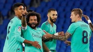 صدرنشینی رئال مادرید پس از پیروزی در مقابل رئال سوسیداد