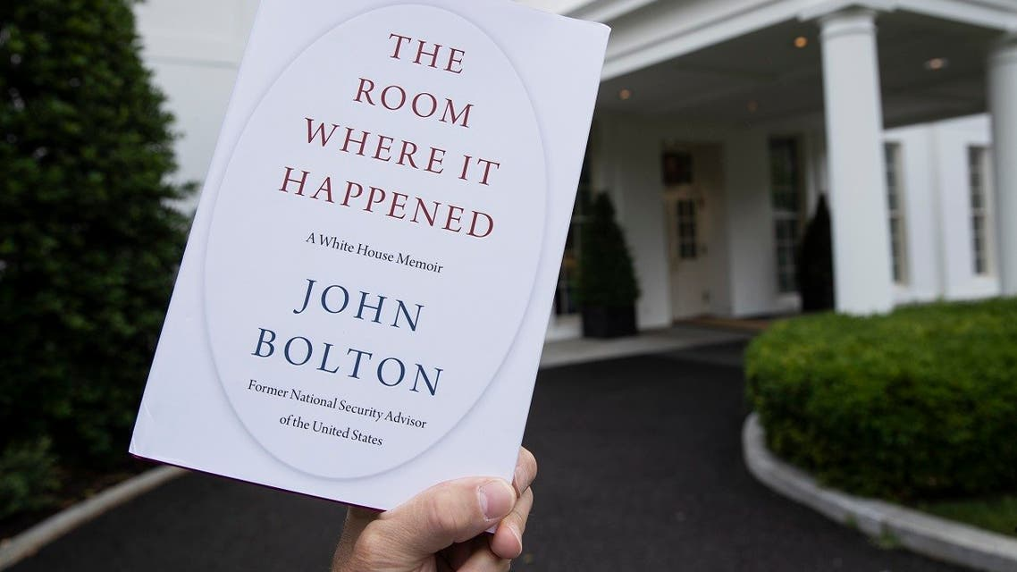 """A copy of """"The Room Where It Happened,"""" by Bolton, is photographed at the White House, June 18, 2020, in Washington. (AP)"""
