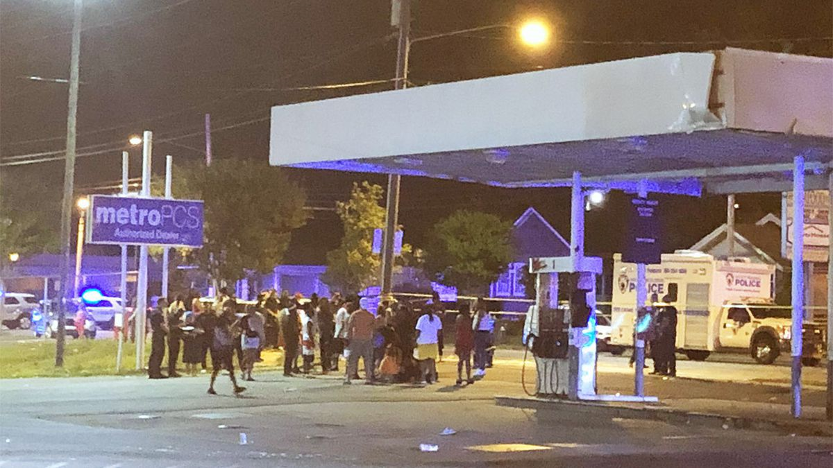 Block Party shooting. (WFTV, Twitter)
