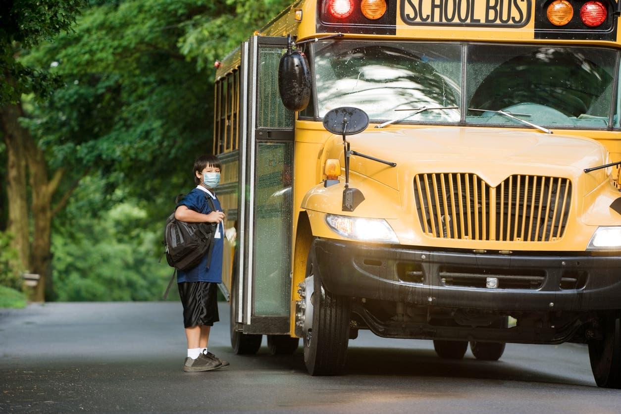 تعبيرية - حافلة مدرسية