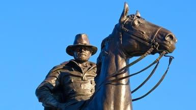 حتى تمثال محرر العبيد.. لم ينجُ من التخريب بكاليفورنيا