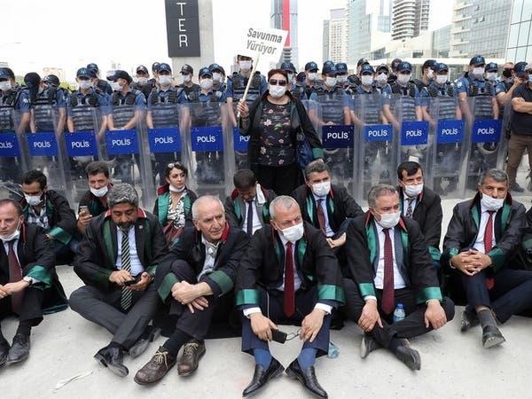 محامون يواصلون الاحتجاج رفضاً لوصاية أردوغان.. وهذه الخطوة التالية