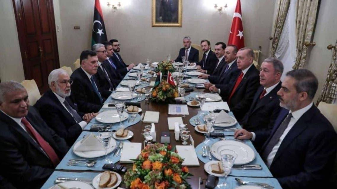ترکی اور لیبیا