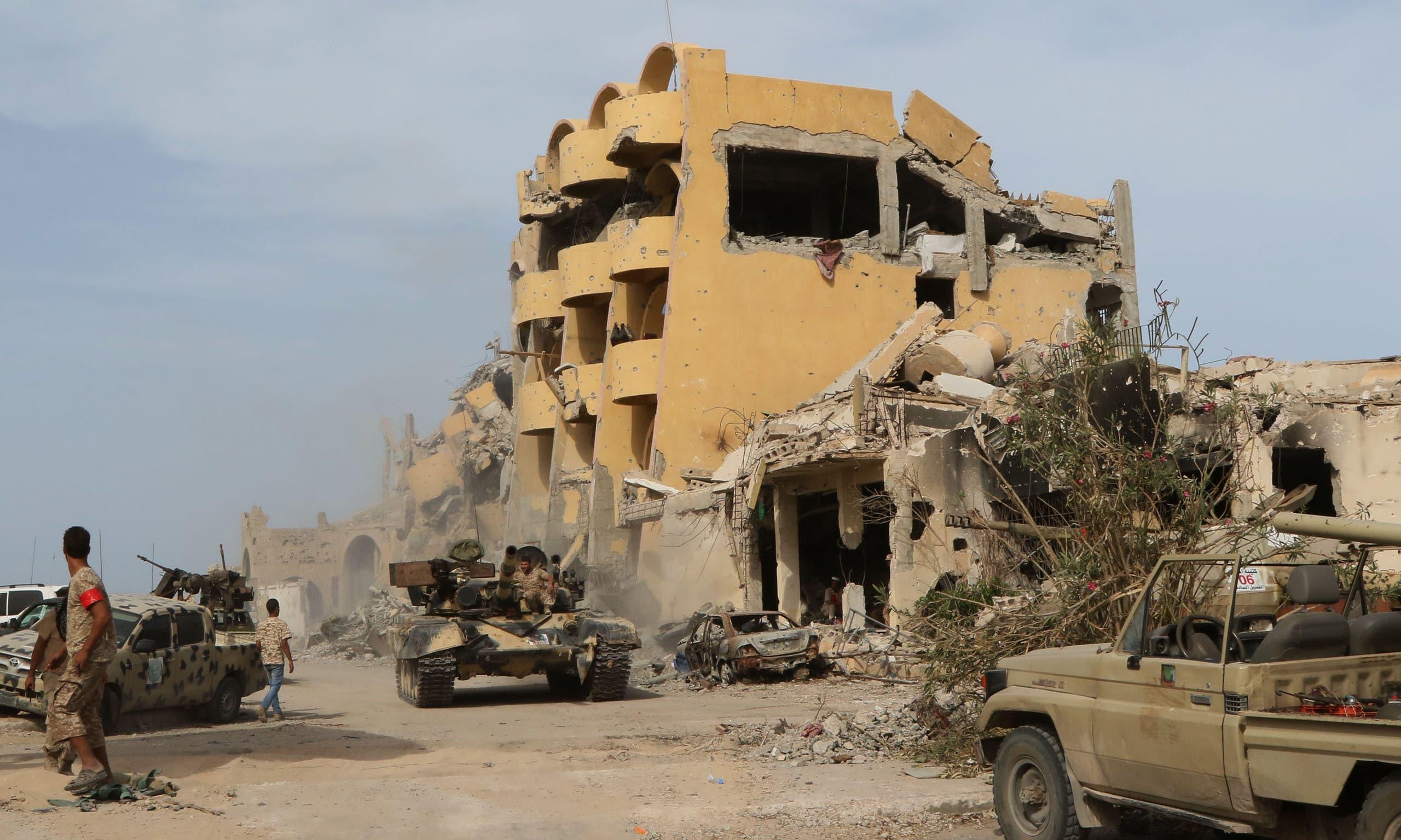 قوات الوفاق في سرت في اكتوبر 2016